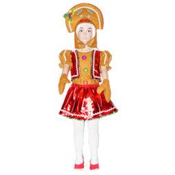 Disfraz de Galleta de Jengibre niña 61d9ae811750