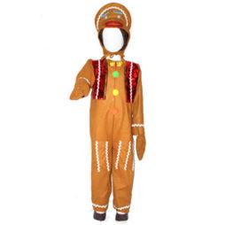 Disfraz de Galleta de Jengibre niño 5eb1f27914ba